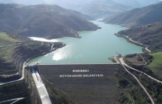Yuvacık Barajı'nda su seviyesi yüzde 96'ya...