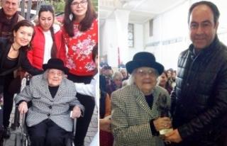 105 yaşındaki Sümerolog Muazzez İlmiye Çığ'a...