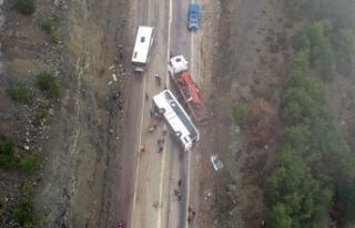 35 kişinin yaralandığı otobüsün şoförü serbest