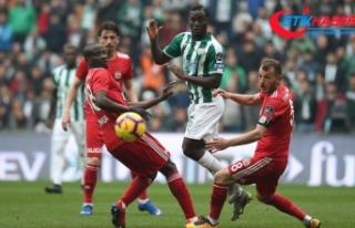 5 gollü maçın kazananı Bursaspor