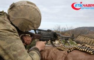 Afrin'deki taciz ateşine Mehmetçik'ten...
