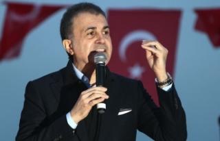 AK Parti Sözcüsü Çelik: Başkaları için korku...