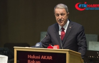 Bakan Akar: Mücadele son terörist etkisiz hale getirilinceye...