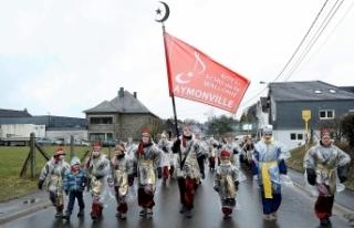 Belçika'nın 'Türk köyü'nde karnaval...