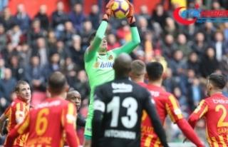 Beşiktaş Kayseri'den bir puanla dönüyor