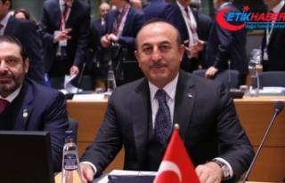Çavuşoğlu: Suriye'de Anayasa Komitesi'nde...