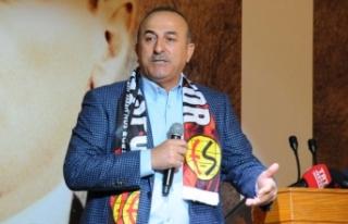 Çavuşoğlu: Kandil'deki teröristlerin ittifakın...