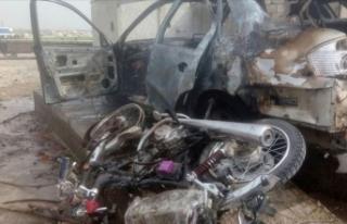 Cerablus'ta bomba yüklü motosiklet saldırısı:...