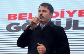 Çevre ve Şehircilik Bakanı Murat Kurum: İmar affı...