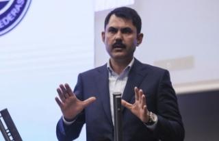 Çevre ve Şehircilik Bakanı Murat Kurum: Riskli...