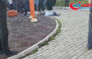 Çocuk parkında dehşet: Baldızını vurup intihar...
