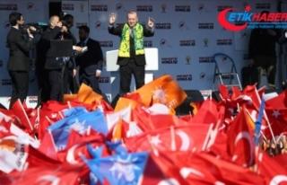 Cumhurbaşkanı Erdoğan: Bu trenden inenler bir daha...