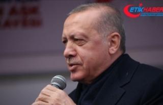 Cumhurbaşkanı Erdoğan: Bunların amacının belediyeleri...