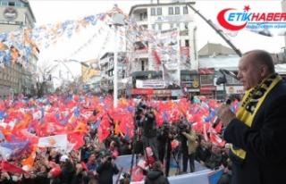 Cumhurbaşkanı Erdoğan'dan Ağrı'ya istihdam...