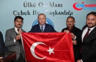 Cumhurbaşkanı Erdoğan'dan Ülkü Ocaklarına...