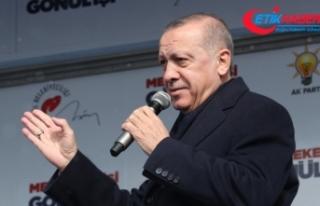 Cumhurbaşkanı Erdoğan: Eğer fiyatlar yerine gelirse...