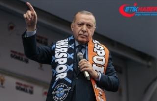 Cumhurbaşkanı Erdoğan: Ezan ve bayrak düşmanları...