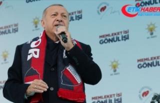 Cumhurbaşkanı Erdoğan: Sandığa gitmemek ülkeye...