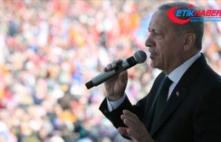Cumhurbaşkanı Erdoğan: Türkiye'yle hesabı...
