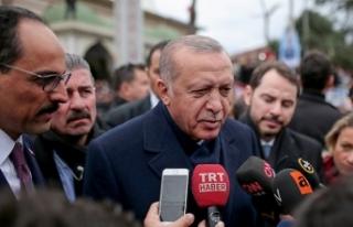 Cumhurbaşkanı Erdoğan: 30 büyükşehir önem arz...