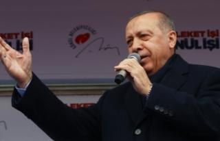 Cumhurbaşkanı Erdoğan: Bay Kemal sen Kandil'in...
