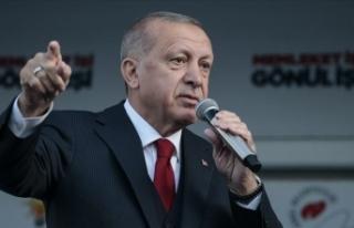 Cumhurbaşkanı Erdoğan: 'Bölücü örgüte...