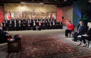 Cumhurbaşkanı Erdoğan: Eserlerimiz için halkımızdan...