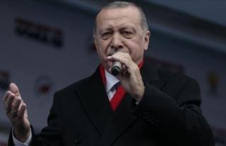 Cumhurbaşkanı Erdoğan: Hedefimiz bu yıl 50 milyon...