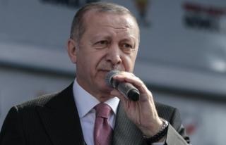 Erdoğan: Ayasofya'yı seçimden sonra tekrar...