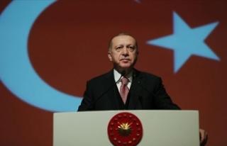 """Erdoğan: """"Ülkemize diz çöktürmeye çalışanlar..."""