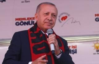 Cumhurbaşkanı Erdoğan: Ulusal Raylı Sistem Araştırma...