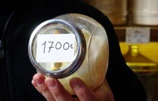 Damla sakızının fiyatı el yakıyor: Kilosu 1700...