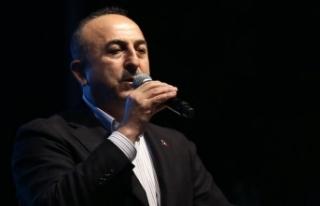 Dışişleri Bakanı Çavuşoğlu: CHP üzerinden...