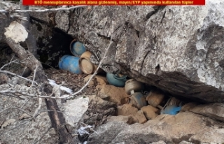 Diyarbakır'da PKK'ya ait 19 sığınak...