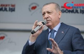 Erdoğan: Beraberliğimize fitneyle saldıranlar pusuda...
