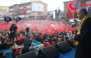 Erdoğan: CHP ve onun ruh ikizi HDP'ye rağmen...