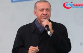Erdoğan: Gebze-Halkalı Banliyö Hattıyla günde...