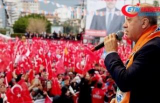 Erdoğan: Suriye'nin kuzeyinde terör koridoru...
