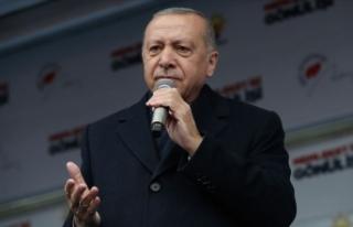 Erdoğan'dan küçükbaş hayvan yetiştiricilerine...