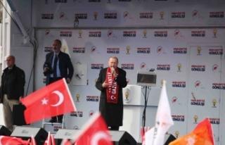 Erdoğan'dan Kılıçdaroğlu'na 'cilalı boyalı'...