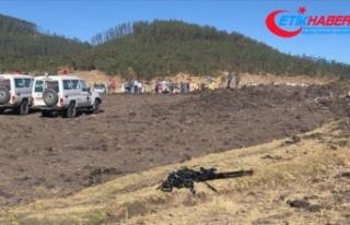 Etiyopya yolcu uçağı Kenya'da düştü