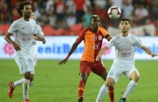 Galatasaray'ın konuğu Antalyaspor