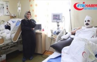 Gaz kaçağını çakmakla kontrol eden çift hastanelik...