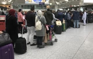 Hava yoluyla şubatta 12,8 milyon yolcu taşındı