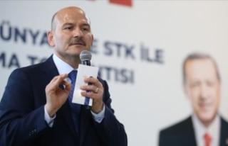 İçişleri Bakanı Soylu: PKK'ya haraç toplamış...