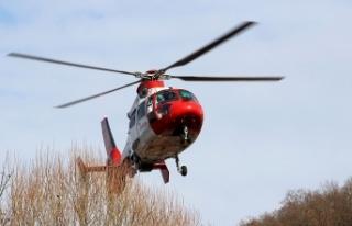 İran'da ambulans helikopter düştü: 5 ölü