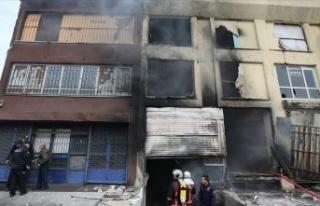 İskitler'de metruk binadaki yangında 5 kişi...