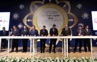 'İslam Dünyası Gençlik Başkenti' unvanını...