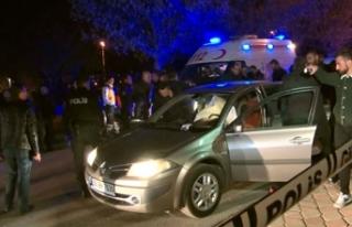 Kadın polis otomobilde nişanlısını vurdu