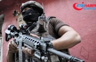Kamu görevlilerine saldırı planı yapan terörist...